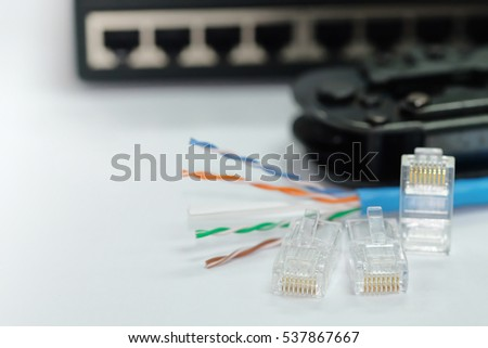 Amazing Rj 45 Plug Network Cable Blur Tool Stock Photo Edit Now 537867667 Wiring 101 Ferenstreekradiomeanderfmnl