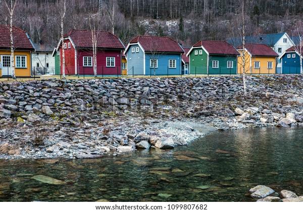 Rjukan Norway Scandinavian Houses