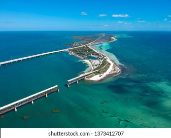 Road 1 to Key West in Florida Keys, USA