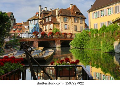 to the road of Alsace wine the city of Colmar