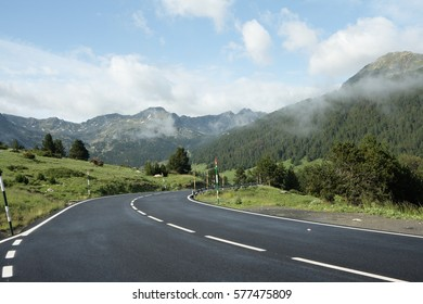 Road in Andorra, Pyrenees