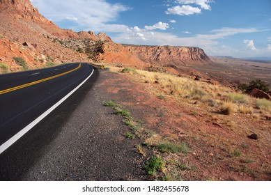 Road In The Arizona  Desert