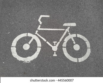 the road for bicycle