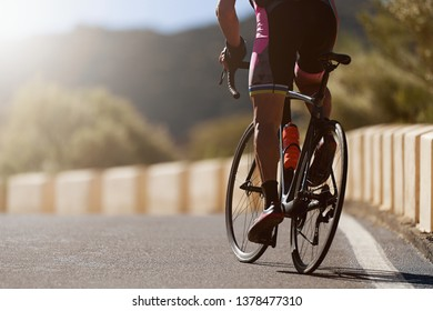 Road bike cyclist man cycling,athlete on a race cycle