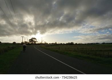 road and biking