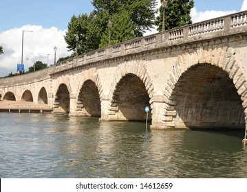 Road Bridge over the River Thames at Maidenhead in England