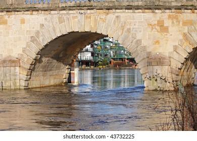 Road Bridge over the River Thames at maidenhead, England