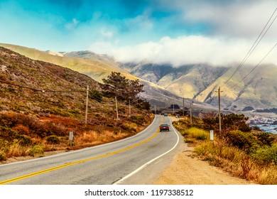 Road in California