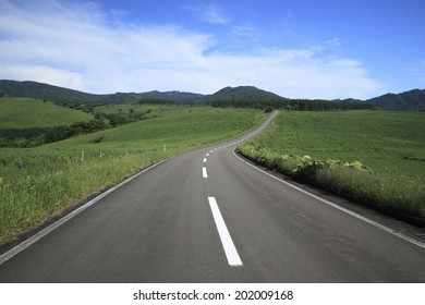 A Road And A Center Line