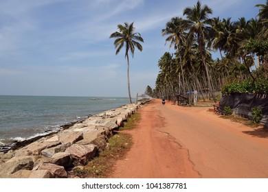 Road to Chillaw,Sri Lanka