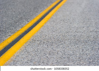 road close up perspective