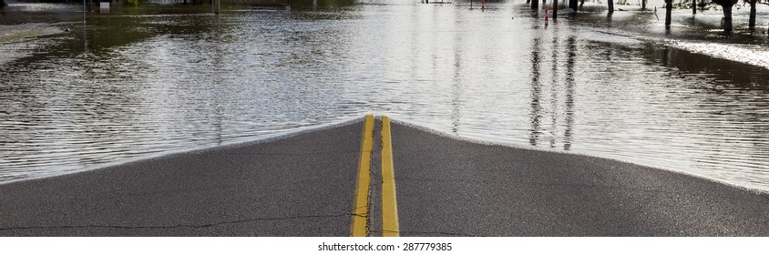 Road Closure From Flooding