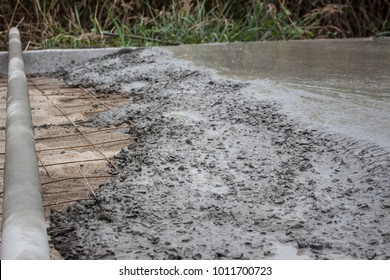 road concrete construction
