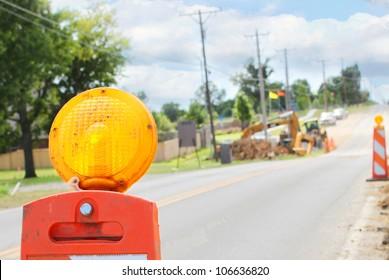 Road construction cones