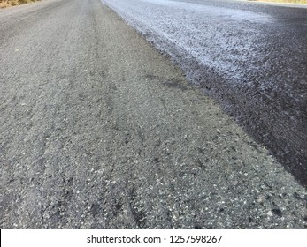 Road construction(para slurry seal)