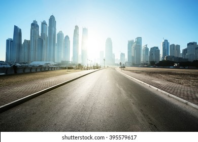 road in Dubai, United Arab Emirates