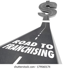 Road to Franchising New Business Opportunity Chain Store License