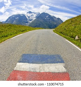 Road, from French Alps.