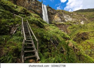 Road to Gocta Water fall, Amazonas, Perú