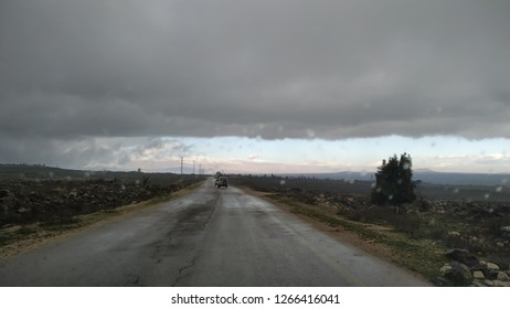 Road going to another area, Golan area