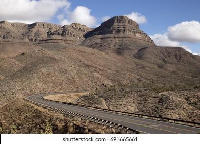 Road to Grand Canyon West, Arizona, USA