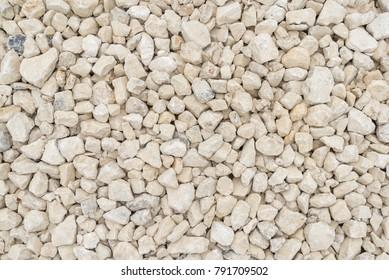 Road gravel texture. Gravel background. Stones texture.