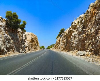 road in Greece