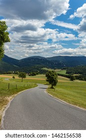 road in to the hills .summer time  - Shutterstock ID 1462156538