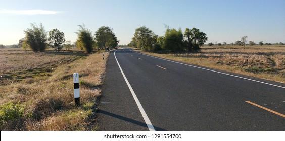 Road hiway taffic