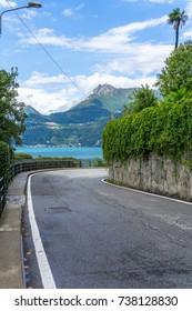 road lake Como, Italy