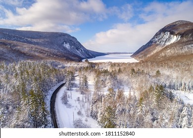 The road to Lake Willoughby, Vermont