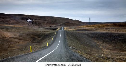 Road to Landmannalaugar, Iceland