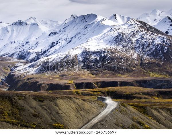 Road Leads To Nowhere - Denali National Park, Alaska