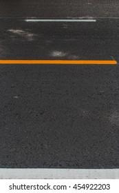 road line color and asphalt texture background