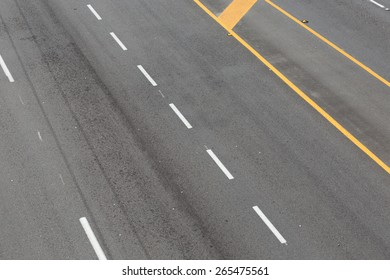 Road lines pattern for background