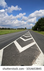 road in Lithuania