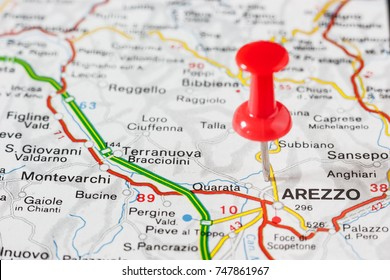 Anghiari Italy Map.Map Of Arezzo Images Stock Photos Vectors Shutterstock