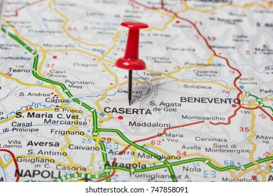 Road Map City Macerata Italy Stock Photo Royalty Free 747852859