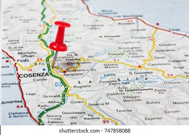 Dakar Pinned On Map Africa Stock Photo Royalty Free 354109487