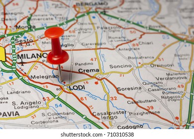 Road Map City Vercelli Italy Stock Photo 710313334 Shutterstock