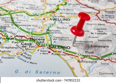 Road Map City Pesaro Italy Stock Photo Royalty Free 747852844