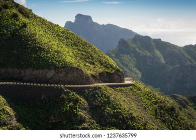 Road to Masca at the Island of Tenerife