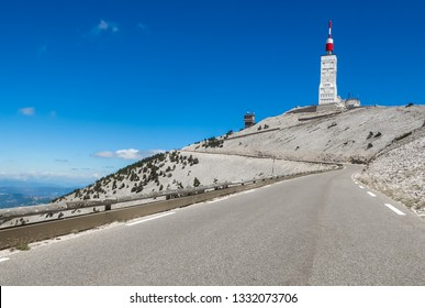 Road to Mont Ventoux, Provence, France