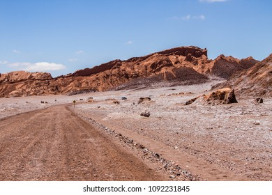 Road in Moon Valley