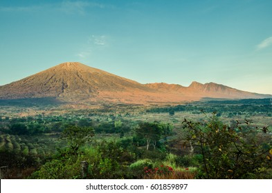 Road to Mount. Rinjani, the mountain is in the Regency of North Lombok, West Nusa Tenggara and rises to 3,726 metres (12,224 ft), making it the second highest volcano in Indonesia.