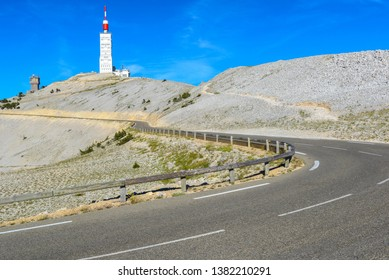Road to Mount Ventoux, Provence, France