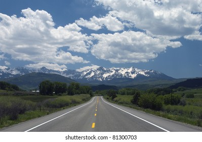 Road to the mountains