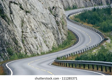 A road in the mountains, Norway