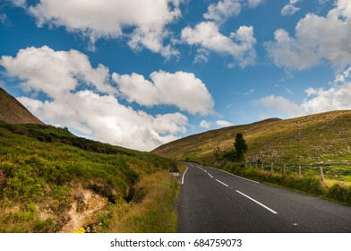 Road in Mourne mountains, Northern Ireland