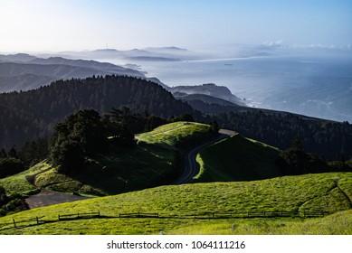 Road to Mt Tam